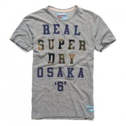 t-shirt Super Dry Real hombre