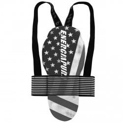 Protector de espalda Energiapura Long Back Protector Adj Unisex América gris