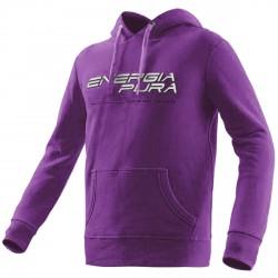 Sweat-shirt Energiapura Skivarp Femme violet