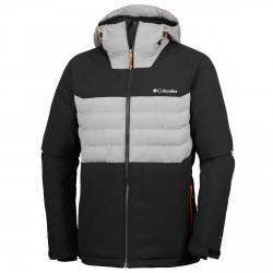 Ski jacket Columbia White Horizon Man black
