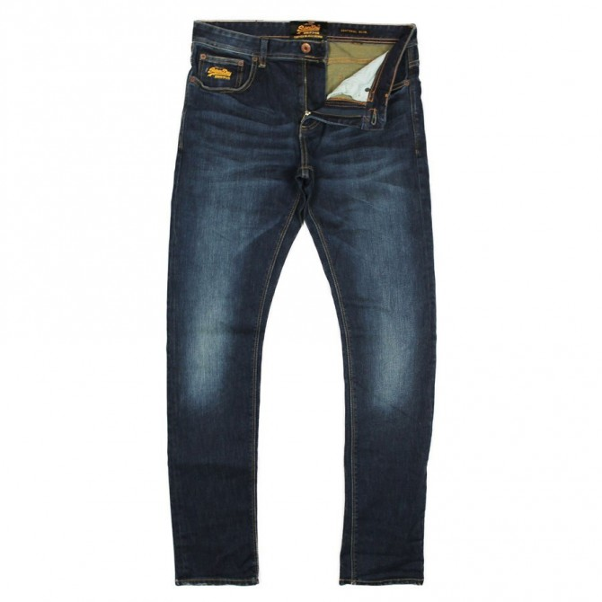jeans Super Dry Corporal slim fit Uomo