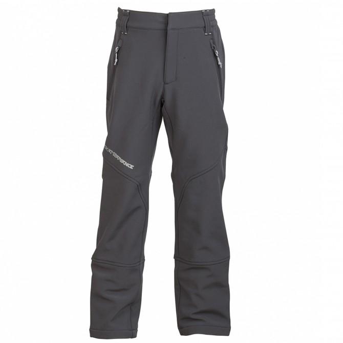 Pantalon alpinisme Rock Experience Dew Garçon gris