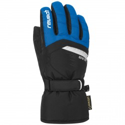 Ski gloves Reusch Bolt Gtx Junior blue-black