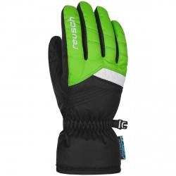 Guantes esquí Reusch Bennet R-Tex® XT Junior verde fluo