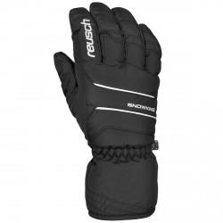 Ski gloves Reusch Snow King black-white