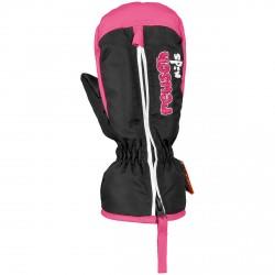 Ski mittens Reusch Ben Baby black-pink