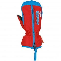 Mitones esquí Reusch Ben Baby rojo-azul