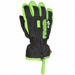 Ski gloves Reusch Ben Baby black-green