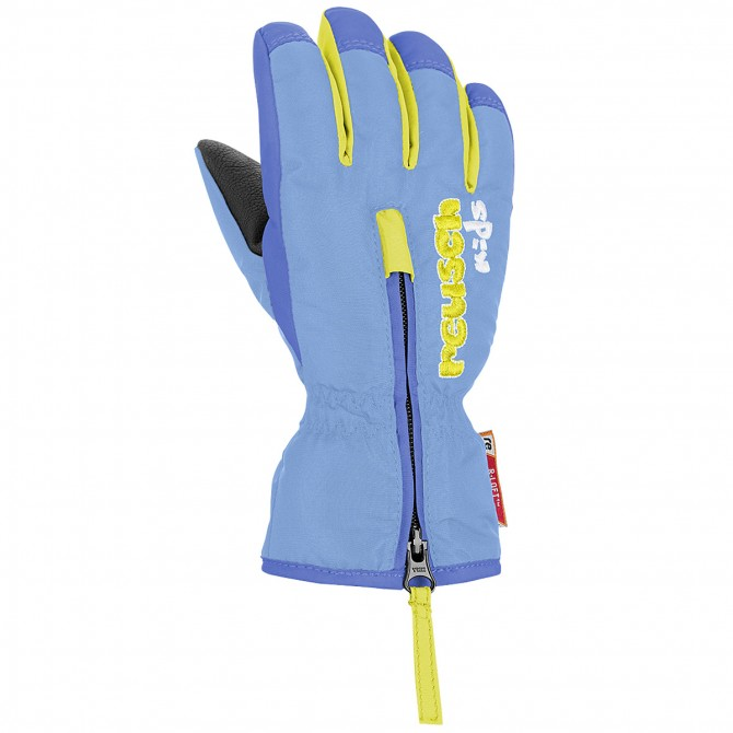 Ski gloves Reusch Ben Baby light blue