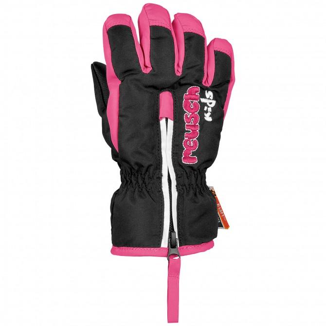 Ski gloves Reusch Ben Baby black-pink