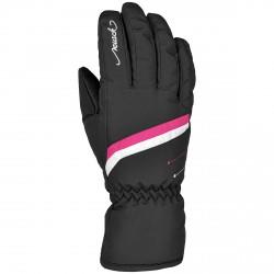Gants ski Reusch Marisa Femme noir-rose