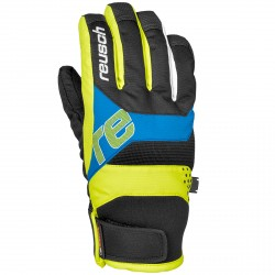 Ski gloves Reusch Finley R-Tex® XT Junior blue-yellow