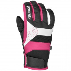 Gants ski Reusch Finley R-Tex® XT Junior rose-noir