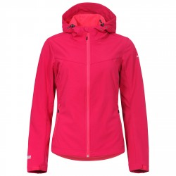 Softshell Icepeak Lucy Donna rosso