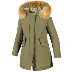 Parka Freedomday New Chamois Mujer verde