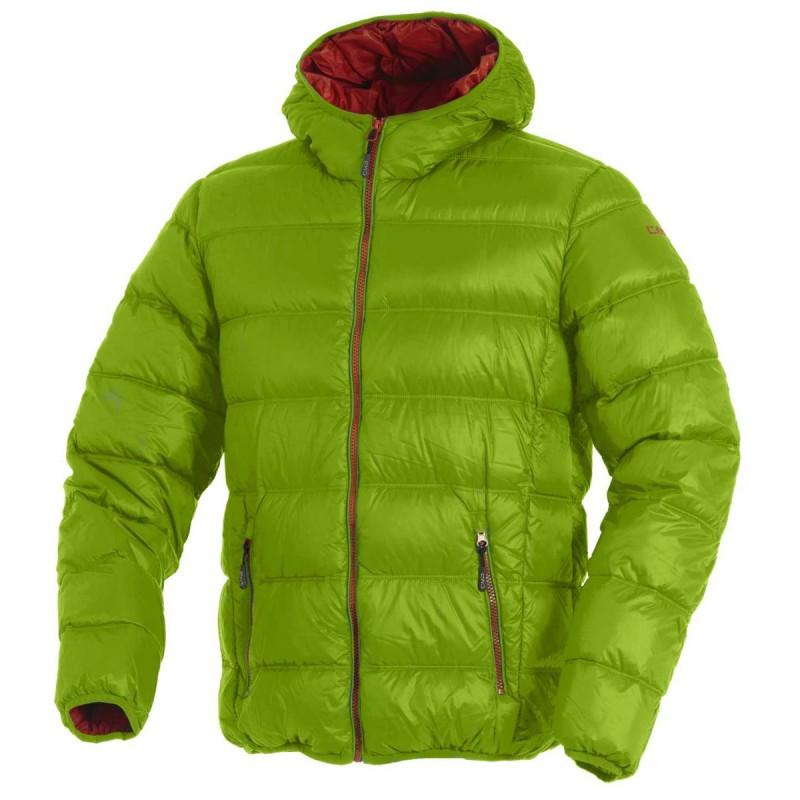 best service 8f70d 5ba72 piumino Cmp Junior verde acido