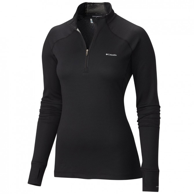 Maglia intimo Columbia Heavyweight II Half Zip Donna