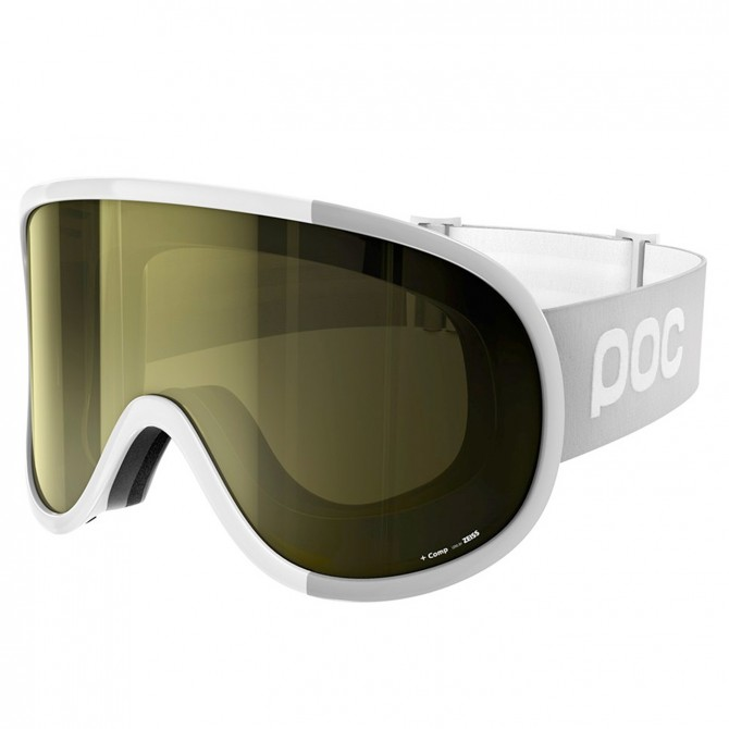 Masque ski Poc Retina Big Comp blanc