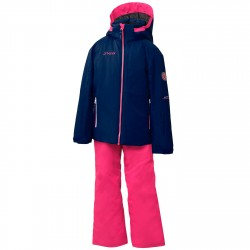 Ensemble ski Phenix Sunnyvale Fille bleu-rose