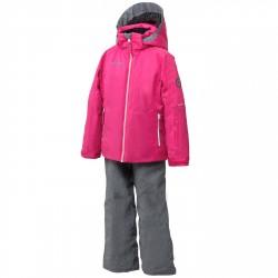 Completo sci Phenix Sunnyvale Bambina rosa-grigio