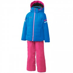 Ensemble ski Phenix Horizon Fille bleu-rose