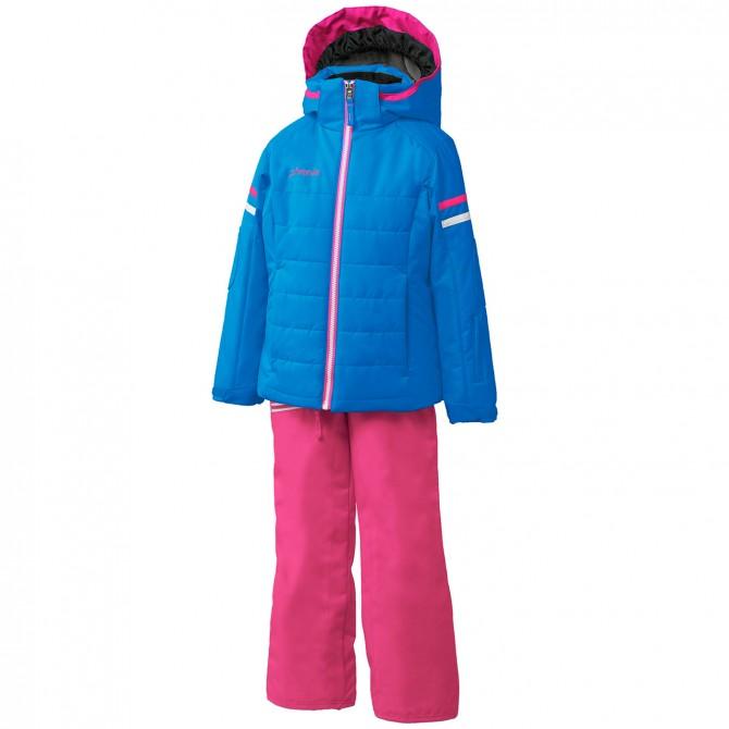 Ensemble ski Phenix Horizon Fille bleu-rose