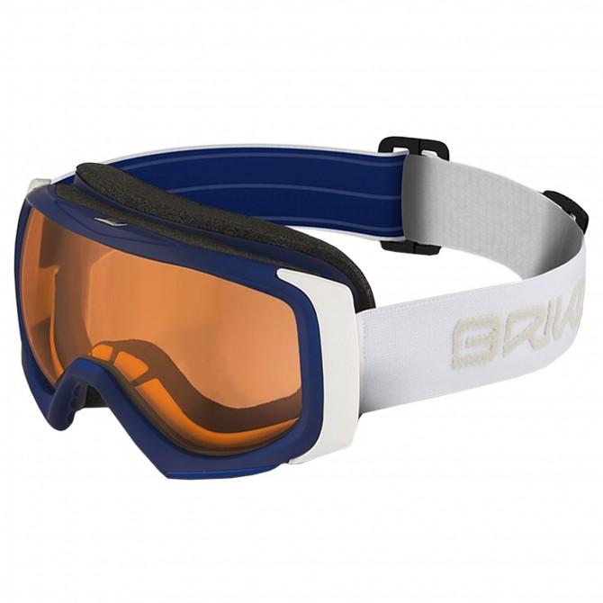 Maschera sci Briko Sniper P1 blu-bianco