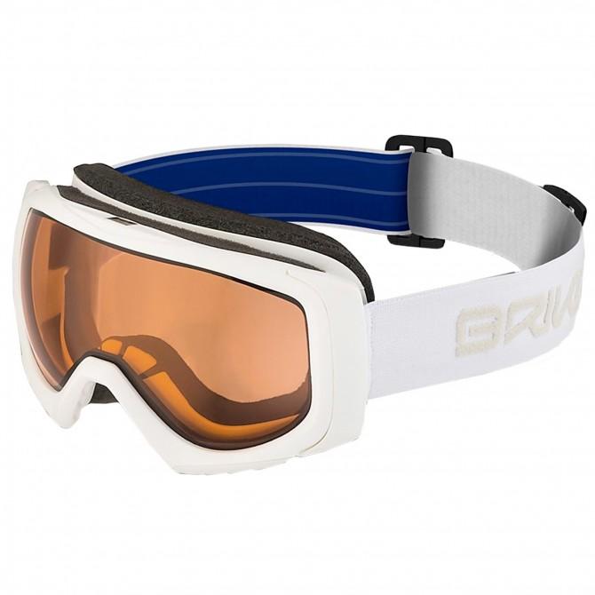 Maschera sci Briko Sniper P1 bianco