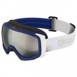 Masque ski Briko Sniper SM3 bleu-blanc
