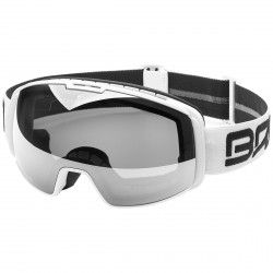 Masque ski Briko Nyira Free Fighter 7.6 OTG blanc