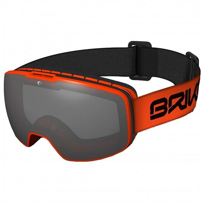 Máscara esquí Briko Nyira SM2 naranja