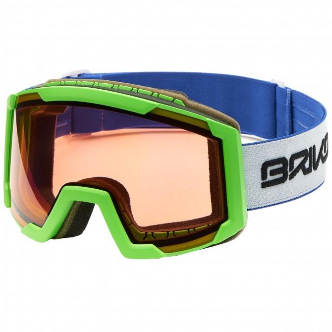 Maschera sci Briko Lava P1 verde