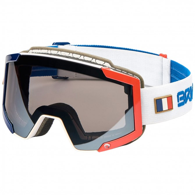 Máscara esquí Briko Lava Fis 7.6 France blanco