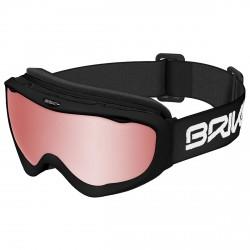 Máscara esquí Briko Amiata P1 negro