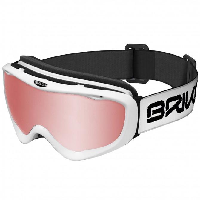 Masque ski Briko Amiata P1 blanc