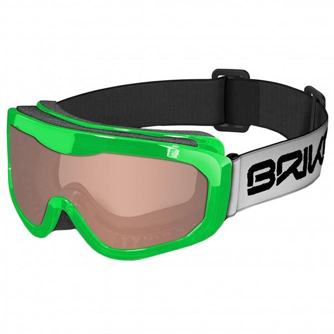 Máscara esquí Briko Agua verde