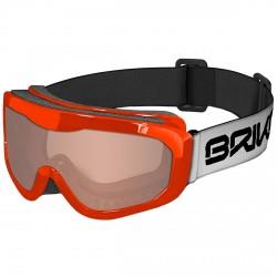 Máscara esquí Briko Agua naranja