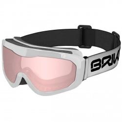 Máscara esquí Briko Agua blanco