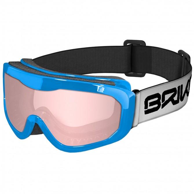 Máscara esquí Briko Agua azul claro