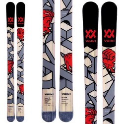 Ski Volkl Revolt 95 + fixations Vist V614