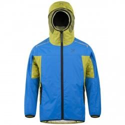 Jacket Montura Nevis Junior blue-lime