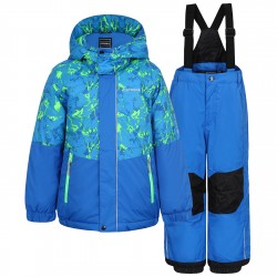 Completo sci Icepeak Jake Baby turchese