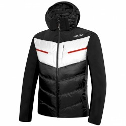 Chaqueta de pluma de esquí Zero Rh+ Freedom Evo Hombre negro