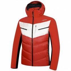 Chaqueta de pluma de esquí Zero Rh+ Freedom Evo Hombre rojo