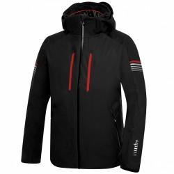 Chaqueta esquí Zero Rh+ Logo Hombre negro