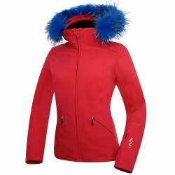 Ski jacket Zero Rh+ Grace Fur Woman fuchsia