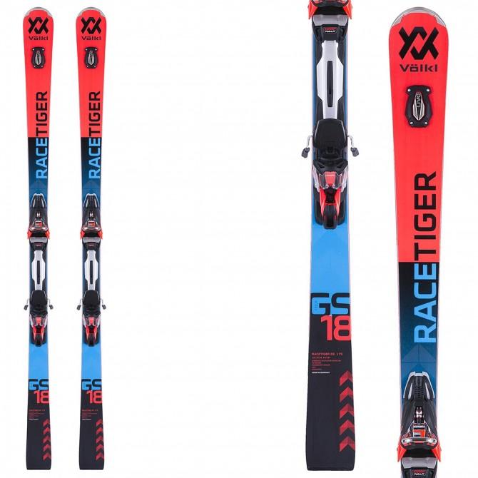 Ski Volkl Racetiger GS + fixations Rmotion 2 12.0