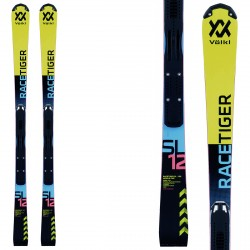 Ski Volkl Racetiger SL R Jr W + fixations Race Jr 8