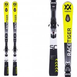 Ski Volkl Racetiger SC + fixations Vmotion 12