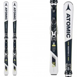 Sci Atomic Redster X5 + attacchi Mercury 11 ATOMIC Race carve - sl - gs